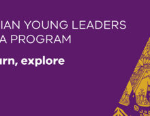 Victorian Young Leaders to India